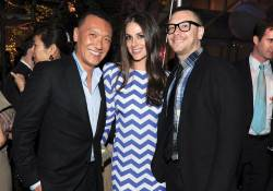 Joe Zee, Ariana and Rob Younkers