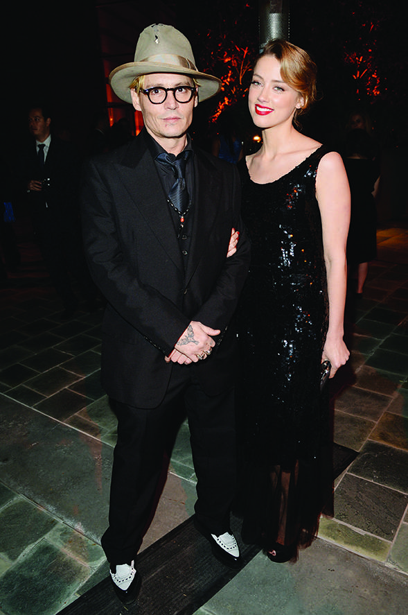 Amber Heard And Johnny Depp   Johnny Depp Amber Heard 2014