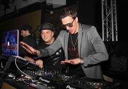 Ryan Lochte Hits the DJ Booth to with DJ Twisted to Celebrate NYE in Style