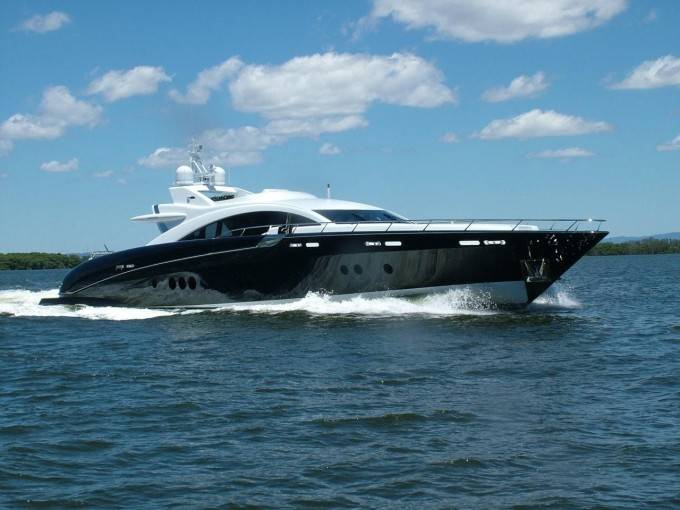 Warren Yachts s120 superyacht Ghost Photo by IBS, Charterworld