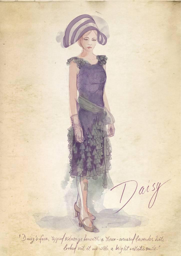 2. DAISY LAVENDER HAT
