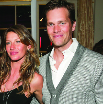 Gisele Bundchen and PRISM Celebrate Mario Testino at Fleur de Lys with Equipment and Dom Perignon