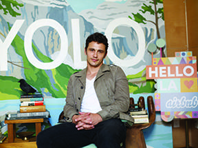 JamesFranco, credit Getty Images for Airbnb
