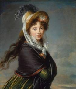 Marie Louise Elisabeth Vigée-Le Brun, Portrait of a Young Woman, Robert Dawson Evans Collection, Photography©2013 Museum of Fine Arts, Boston