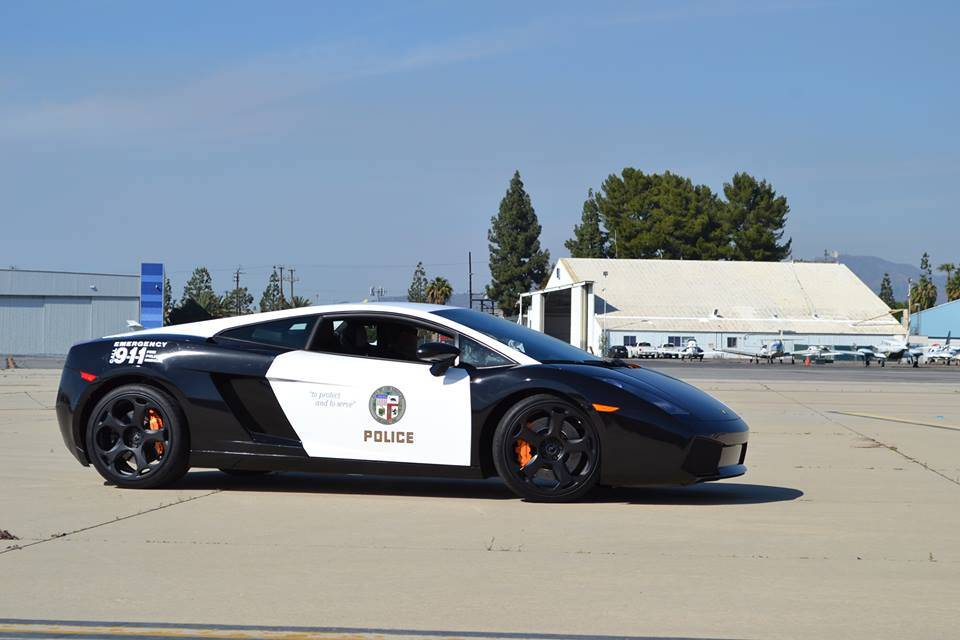 Courtesy of LAPD Lamborghini/Facebook