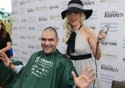 Holly Madison and John Katsilometes Support St Baldricks Day Celebration And Fundraiser For Childhood Cancer Research