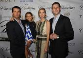 Donald Trump Jr. with Daughter Kai Madison, Ivanka and  Eric Trump