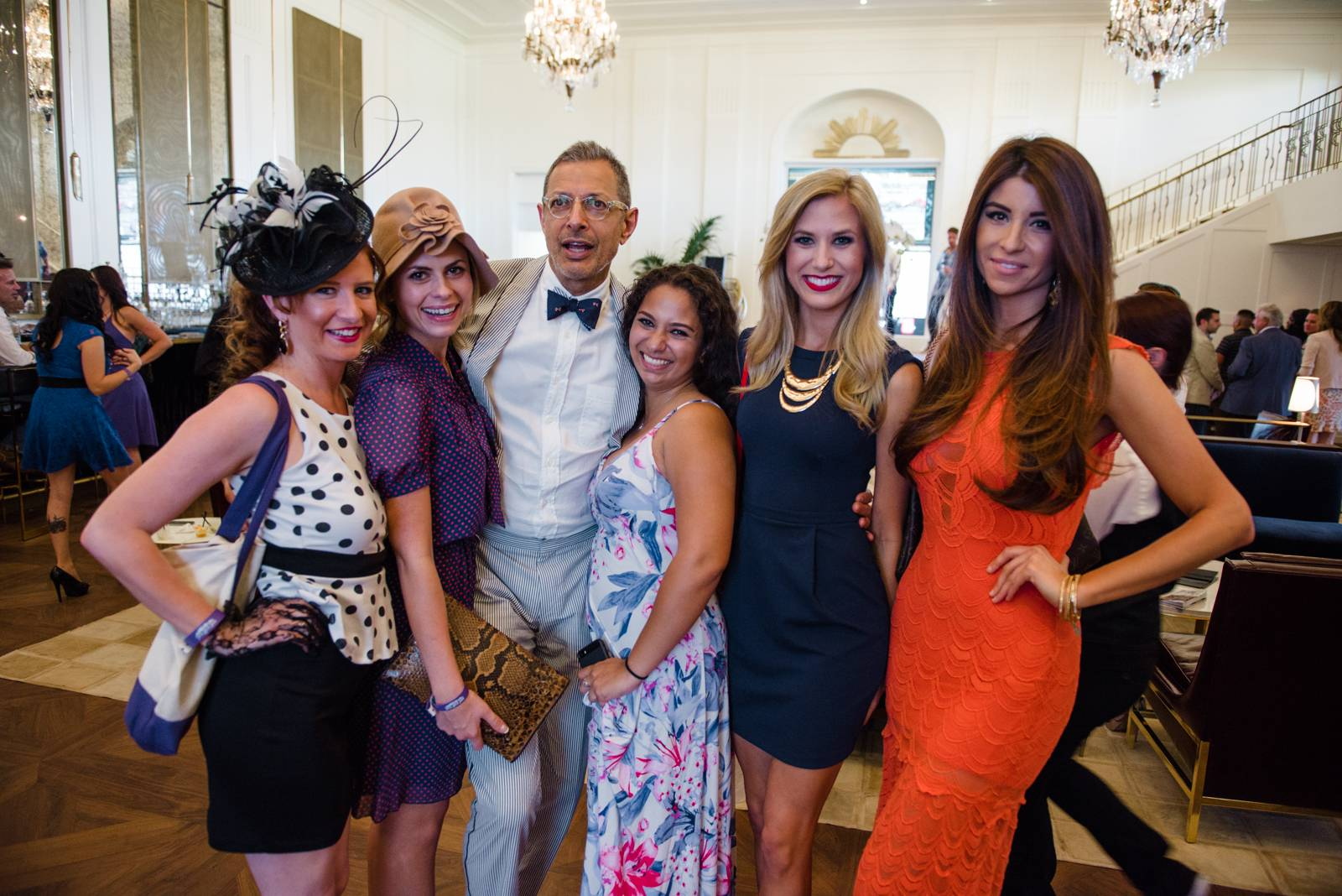 Haute event the chandelier room hosts big cap day party arubaitofo Image collections