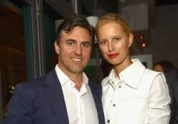 Archie and Karolina Kurkova