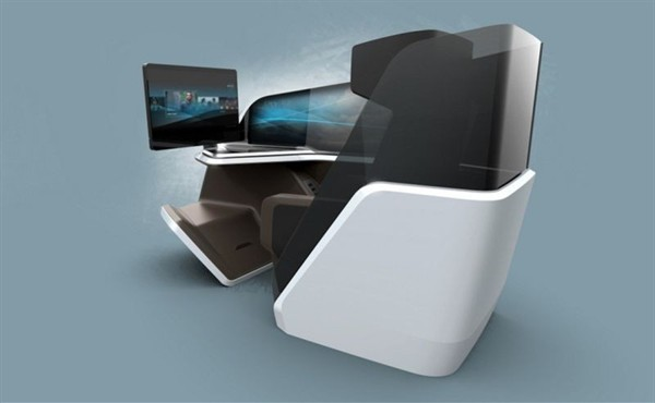 BMW Design Works and Thales Unveil the Ultra Plush Immersive Business Class Seat