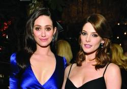 Emmy Rossum + Ashley Greene