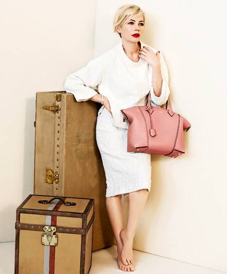 Oscar Nominee Michelle Williams Wows in New Louis Vuitton Ad Campaign