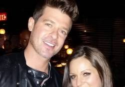 Robin Thicke at STK