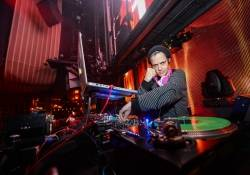 Samantha Ronson spins at Marquee for SKAM 10 Year