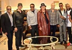 The Jacksons, Santana, Wanya Morris and Criss Angel