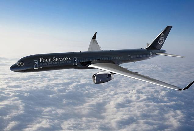 Four Seasons Buys Branded Jet; Offers Bespoke Around-the-World Experiences
