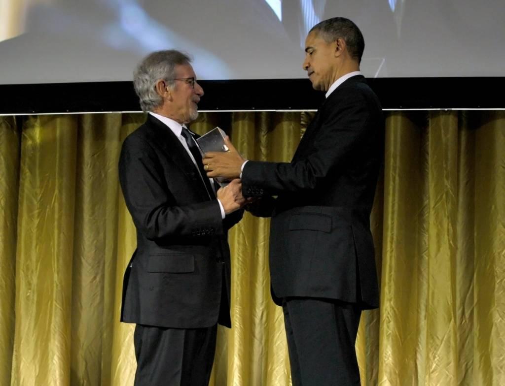 President Obama, Steven Spielberg