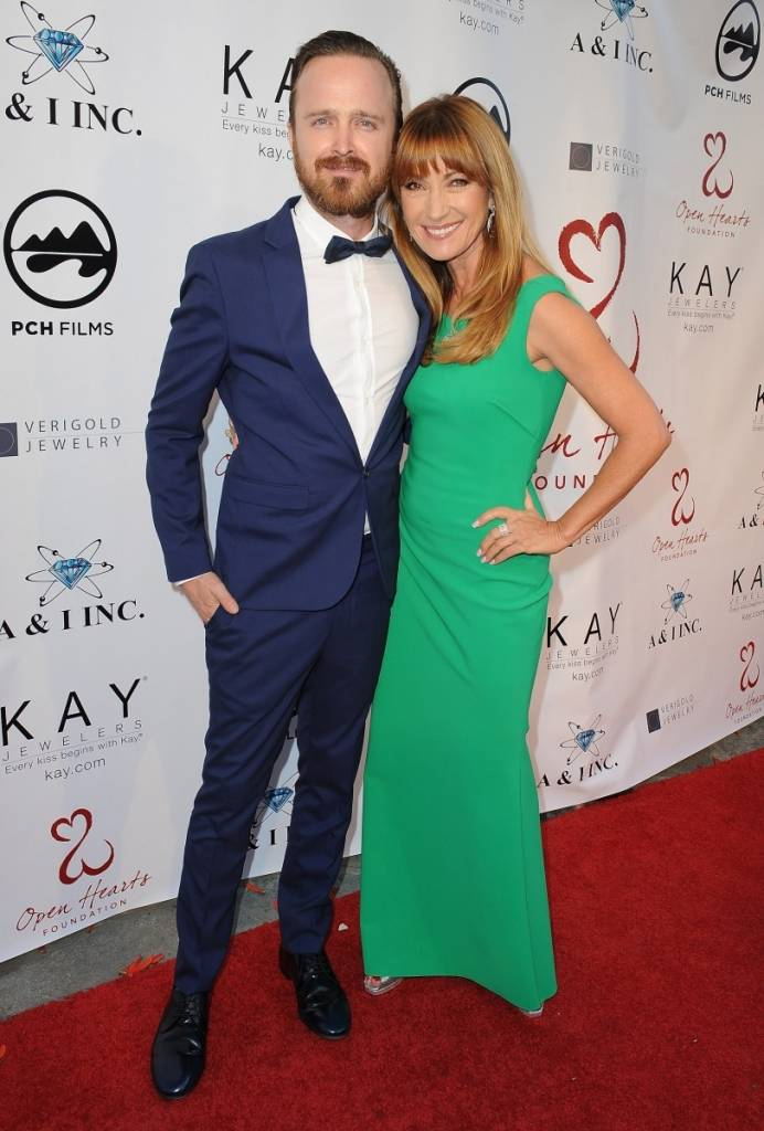Aaron Paul, Jane Seymour