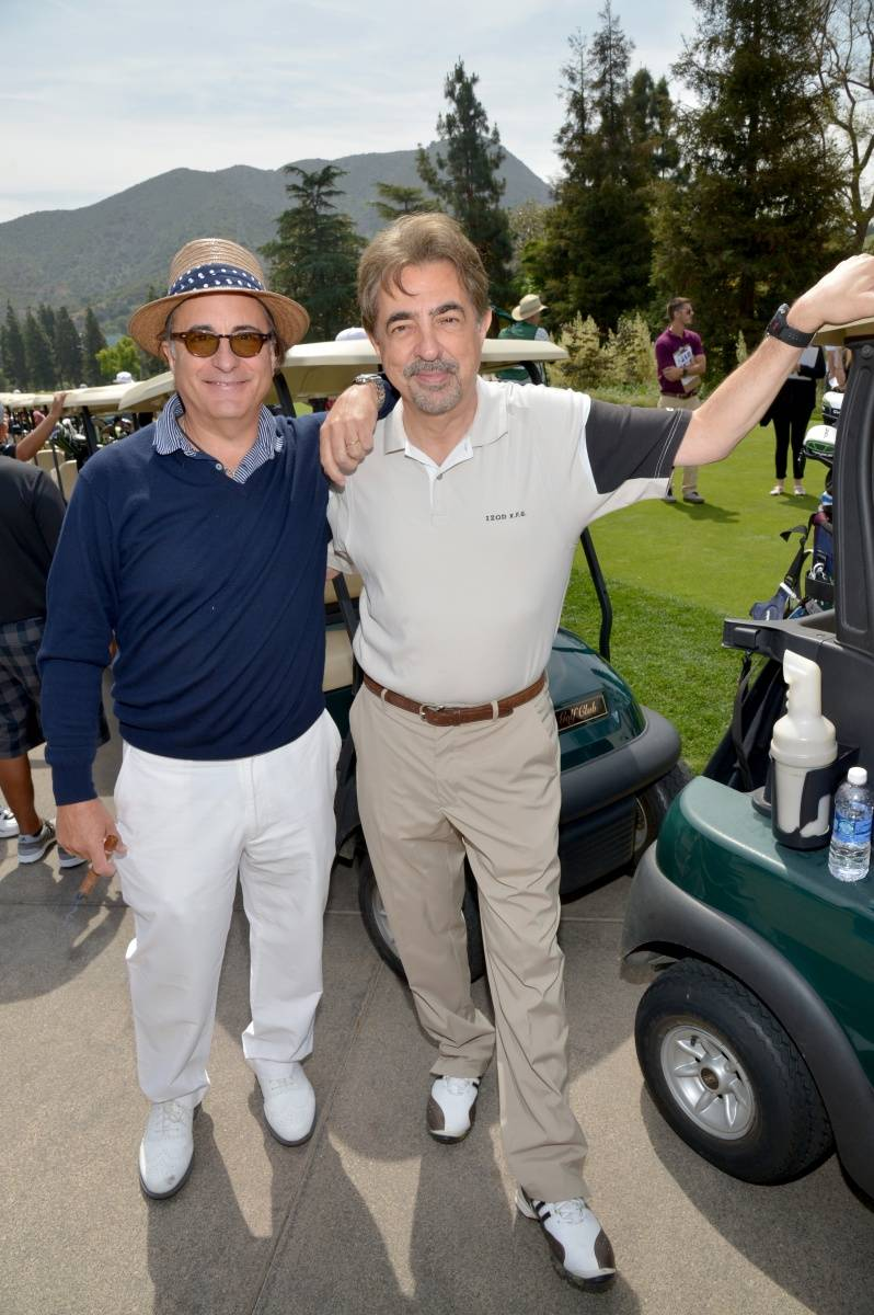 Andy Garcia & Joe Mantegna - Michael Buckner Getty Images