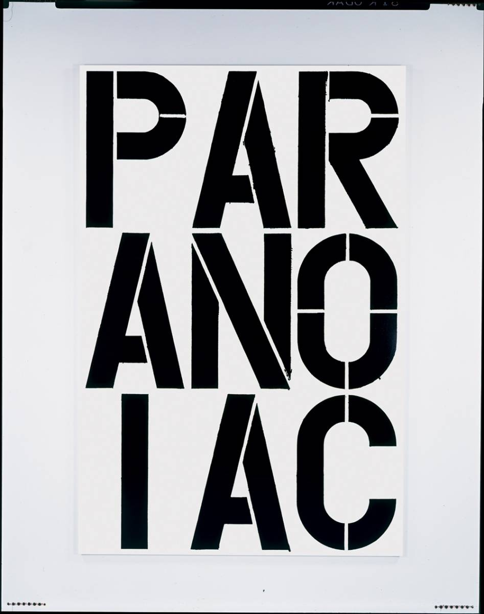 Christopher Wool, 1990, The Museum of Contemporary Art, Los Angeles Purchased with funds provided by Dagny Janss Corcoran, Douglas S.  Cramer and an anonymous donor