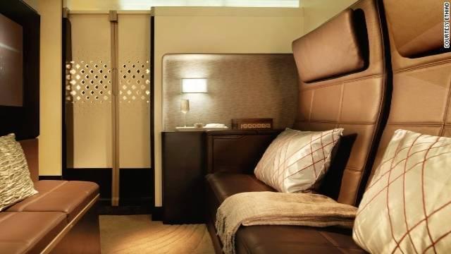 Etihad Airways Luxurious Passenger Jets