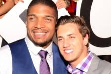 Michael Sam and Vito Cammisano at TAO