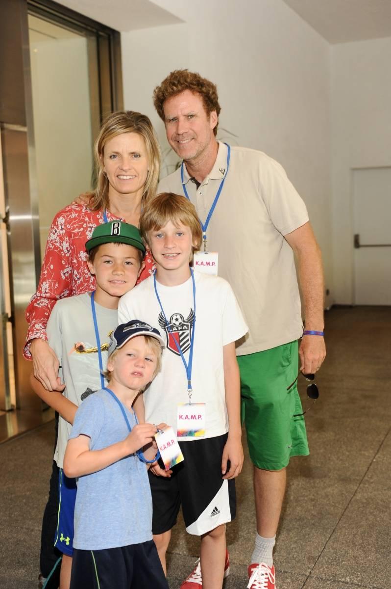 Will Ferrell + family