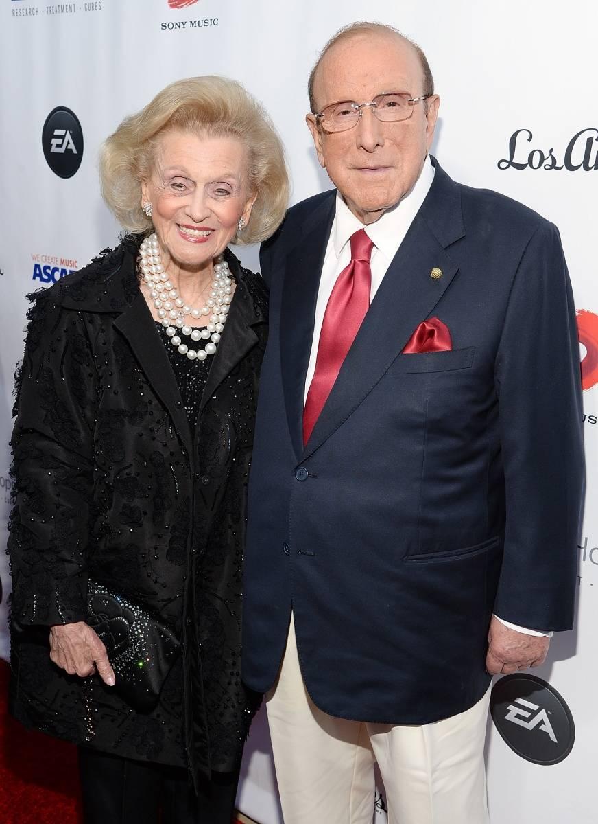 Clive Davis & Barbara Davis
