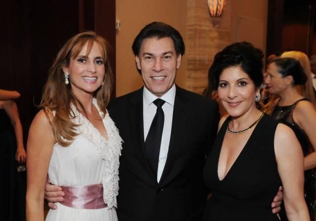 Ana Cristina and Edgardo Defortuna with event chair Yolanda Berkowitz