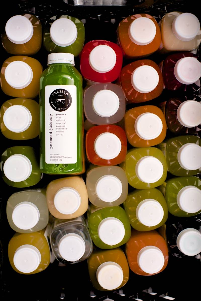 Photo: Pressed juicery