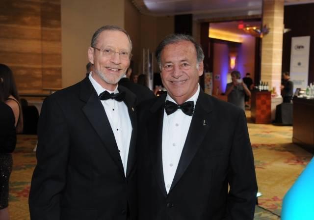 John Sumberg and event chair Jeff Berkowitz