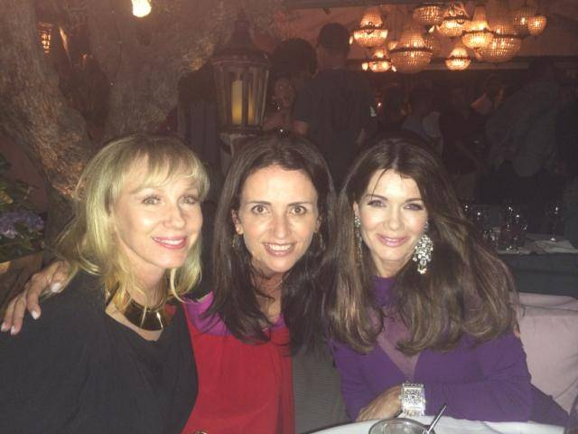 Lea Black, Jenni Pulos and Lisa Vanderpump