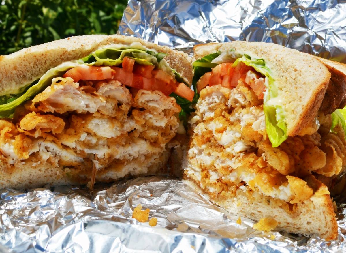 Fish Sandwich from Art Mels Spicy Dicy – Photo by Kristin Tablang