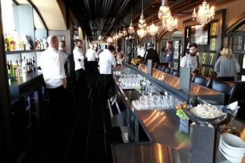 Bar in the Gotham Clubhouse   Image via bizjournals.com