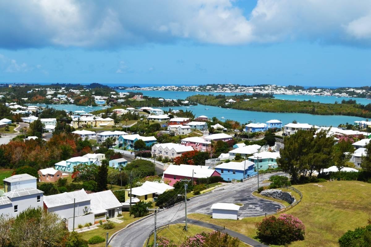 View from St. David's Island, Bermuda