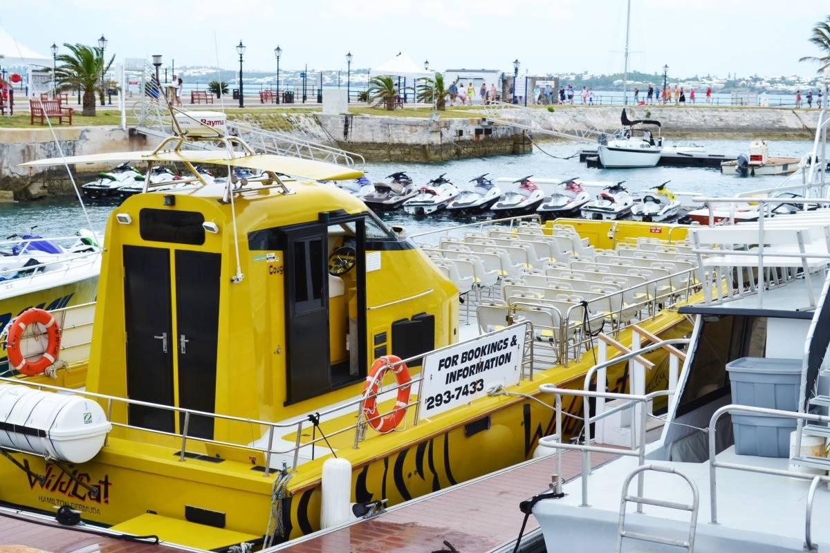 WildCat Boat – Dockyard Ferry, Bermuda
