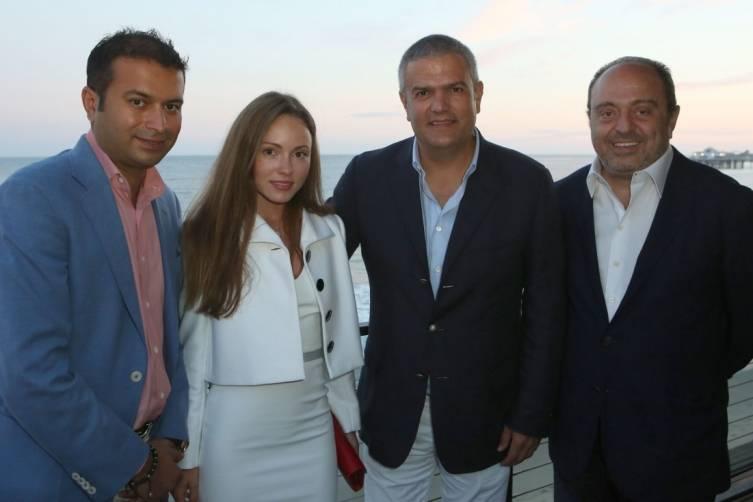 Kamal Hotchandani, Nikita Kahn, Ricardo Guadalupe & John Simonian