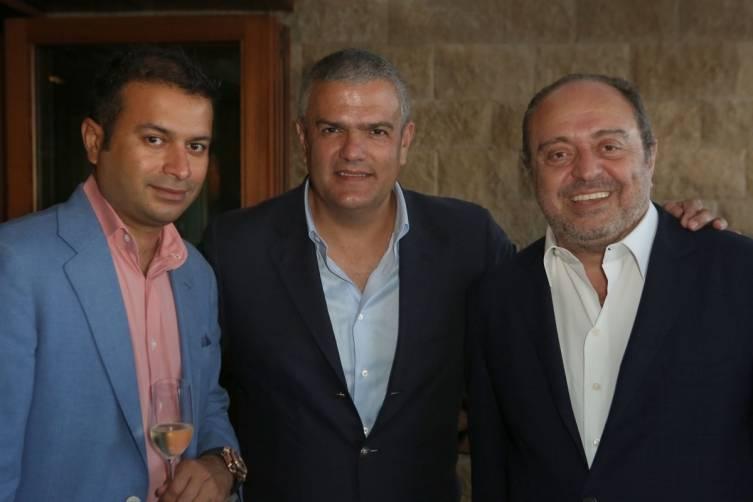 Kamal Hotchandani, Ricardo Guadalupe & John Simonian