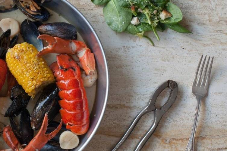 Lobster Bake Wide