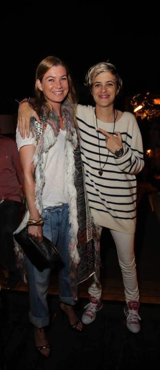 Ellen Pompeo and Samantha Ronson reunite at the 1OAK 4th of July party at Nobu Malibu