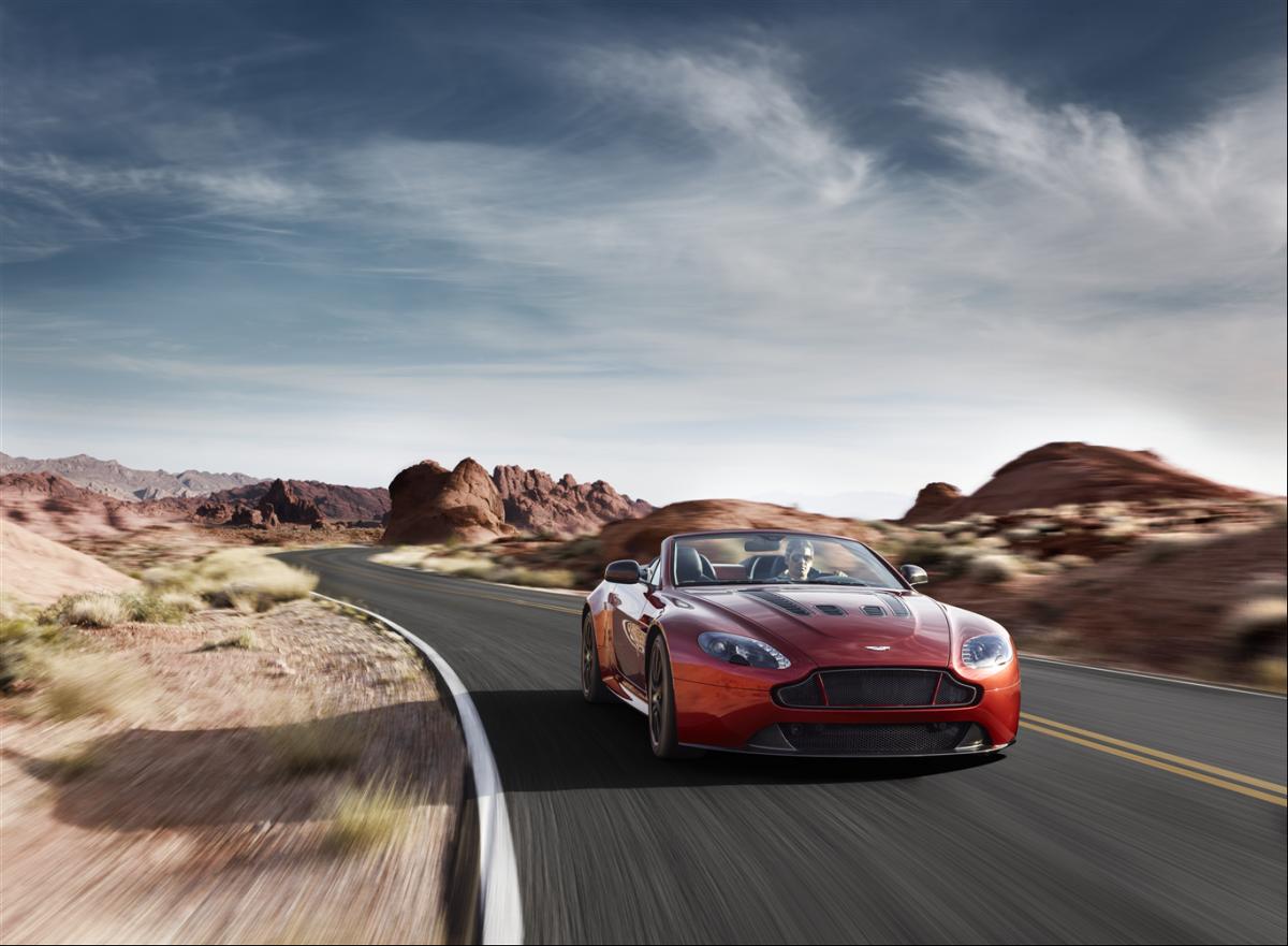 Aston Martin V8 Vantage Track Car