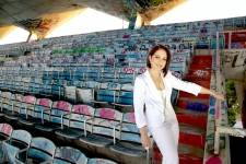 Gloria Estefan at Miami Marine Stadium