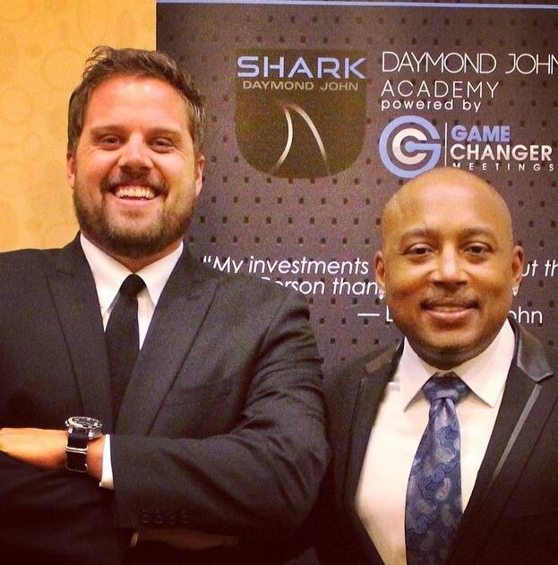 Nate Holzapfel and Daymond John
