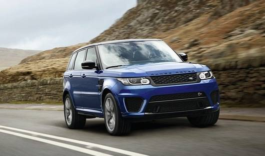 2015 Range Rover Sport SVR   image via www.thetorquereport.com