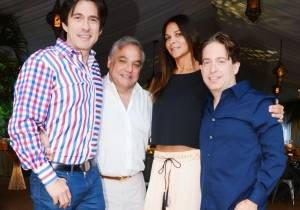 Ricardo Restrepo, Lee Brian Schrager, Lauran and Charlie Walk