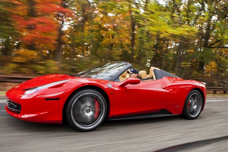 rent an exotic car in San Francisco