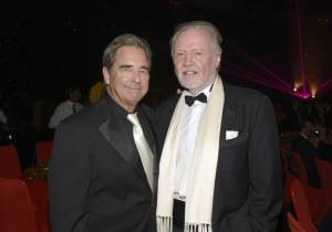 Beau Bridges and Jon Voight at Creative Arts Ball