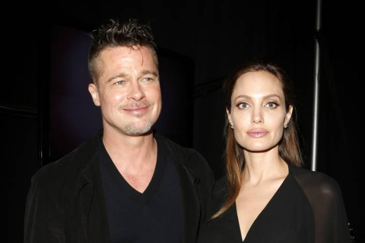 Brad Pitt and Angelina Jolie at the 2014  Film Independent Spirit Awards