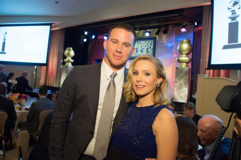 Channing Tatum and Kristen Bell