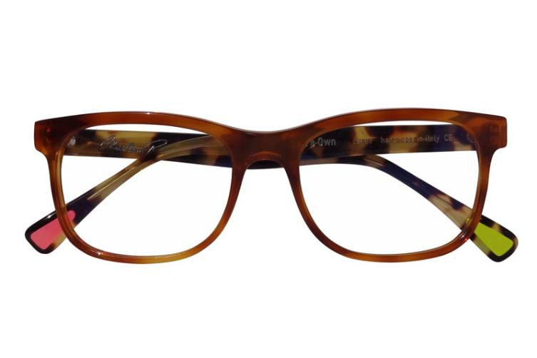 Christian Roth Eric's Own in honey brown with tortoiseshell temples